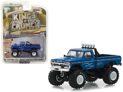 "1974 Ford F-250 Monster Truck ""Midwest Four Wheel Drive Center"" ""Kings of Crunch"" Series 3 1/64 Diecast Model Car by Greenlight"