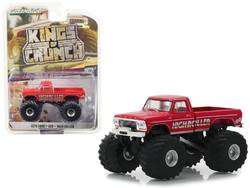 "1979 Ford F-350 Monster Truck ""High Roller"" ""Kings of Crunch"" Series 3 1/64 Diecast Model Car by Greenlight"
