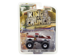 "1972 Chevrolet C20 Monster Truck ""Gentle Ben 1"" ""Kings of Crunch"" Series 3 1/64 Diecast Model Car by Greenlight"