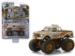 "1970 Chevrolet K-10 Monster Truck ""USA-1"" White (Dirty Version) ""Kings of Crunch"" Series 4 1/64 Diecast Model Car by Greenlight"