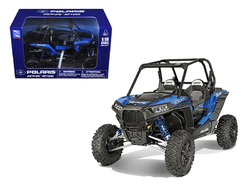 Polaris RZR XP 1000 Dune Buggy Blue 1/18 Diecast Model by New Ray
