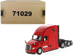 Freightliner New Cascadia Sleeper Cab Truck Tractor Red 1/50 Diecast Model by Diecast Masters