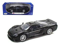 Saleen S7 1/18 Black Diecast Car Model by Motormax