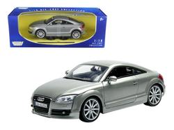 2007 Audi TT Coupe Grey 1/18 Diecast Car Model by Motormax