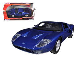 Ford GT Blue 1/24 Diecast Car Model by Motormax