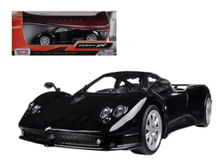 Pagani Zonda F Black 1/24 Diecast Car Model by Motormax