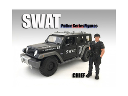 SWAT Team Chief Figure For 1:18 Scale Models by American Diorama
