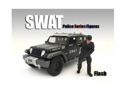 SWAT Team Flash Figure For 1:18 Scale Models by American Diorama