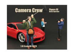"Camera Crew Figure III ""Boom Operator"" For 1:18 Scale Models by American Diorama"