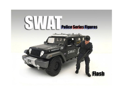 SWAT Team Flash Figure For 1:24 Scale Models by American Diorama