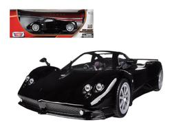 Pagani Zonda F Black 1/18 Diecast Car Model by Motormax