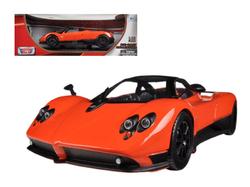 Pagani Zonda F Orange 1/18 Diecast Car Model by Motormax