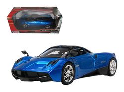 Pagani Huayra Blue 1/24 Diecast Model Car by Motormax