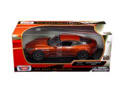 Aston Martin DB11 Copper Orange 1/24 Diecast Model Car by Motormax
