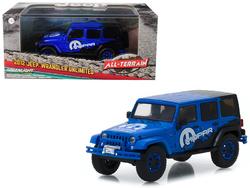 "2012 Jeep Wrangler Unlimited ""MOPAR"" Off Road Edition Blue ""All-Terrain"" Series 1/43 Diecast Model Car  by Greenlight"