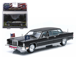 1972 Lincoln Continental Gerald Ford Presidential Limousine 1/43 Diecast Model Car by Greenlight