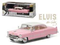 "Elvis Presley 1955 Cadillac Fleetwood Series 60 ""Pink Cadillac"" (1935-1977) 1/43 Diecast Model Car by Greenlight"