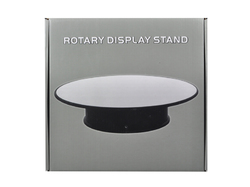 "Rotary Display Stand 10"" For 1/18 1/24 1/64 1/43 Model Cars With Mirror Top"