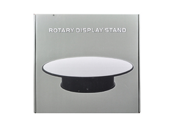 """Rotary Display Stand 12"""" For 1/18 1/24 1/64 1/43 Model Cars With Mirror Top"""