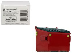Refuse Trash Bin Red 1/34 Diecast Model by First Gear