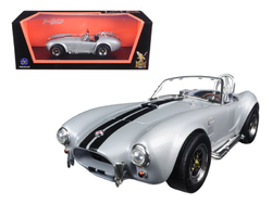 1964 Shelby Cobra 427 S/C Roadster Gray 1/18 Diecast Model Car by Road Signature