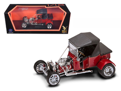 1923 Ford T-Bucket Soft Top Burgundy 1/18 Diecast Car Model by Road Signature