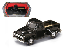 1953 Ford F-100 Pick Up Truck Black 1/43 Diecast Car Model by Road Signature