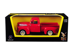 1948 Ford F-1 Pickup Truck Red 1/43 Diecast Model Car by Road Signature