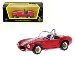 1964 Shelby Cobra 427 S/C Red 1/43 Diecast Model Car by Road Signature