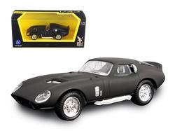 1965 Shelby Cobra Daytona Coupe Matt Black 1/43 Diecast Model Car by Road Signature