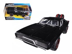 """Dom's 1970 Dodge Charger R/T Off Road Version """"Fast & Furious 7"""" Movie 1/24 Diecast Model Car by Jada"""