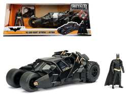 "2008 ""The Dark Knight"" Tumbler Batmobile with Batman Diecast Figurine 1/24 Diecast Model Car by Jada"