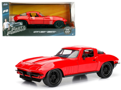 """Letty's Chevrolet Corvette Fast & Furious F8 """"The Fate of the Furious"""" Movie 1/24 Diecast Model Car by Jada"""