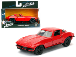"Letty's Chevrolet Corvette Fast & Furious F8 ""The Fate of the Furious"" Movie 1/32 Diecast Model Car  by Jada"