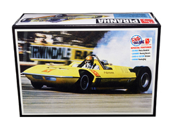 """Skill 2 Model Kit Piranha Rear Engine """"Funny Car"""" Dragster 1/25 Scale Model by AMT"""