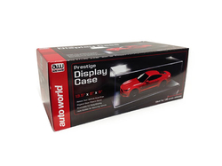 Prestige Collectible Display Show Case for 1/24-1/18 Scale Model Cars by Autoworld