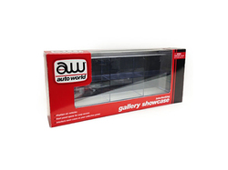 6 Car Interlocking Collectible Display Show Case for 1/64 Scale Model Cars by Autoworld