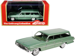 1962 Oldsmobile Dynamic Fiesta Wagon Willow Green Metallic Limited Edition to 225 pieces Worldwide 1/43 Model Car by Goldvarg Collection