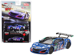 "Acura NSX GT3 #86 ""Uncle Sam"" 2017 IMSA Watkins Glen Limited Edition to 3600 pieces Worldwide 1/64 Diecast Model Car by True Scale Miniatures"