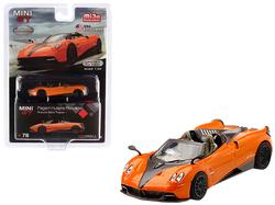 Pagani Huayra Roadster Arancio Saint Tropez / Orange Metallic Limited Edition to 2,400 pieces Worldwide 1/64 Diecast Model Car by True Scale Miniatures