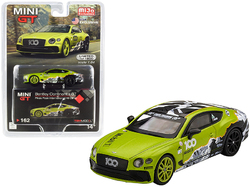Bentley Continental GT Pikes Peak International Hill Climb (2019) Limited Edition to 1800 pieces Worldwide 1/64 Diecast Model Car by True Scale Miniatures