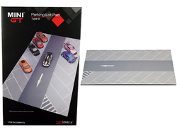 """Parking Lot"" Pad Type B Accessory ""Mini GT"" for 1/64 Scale Model Cars by True Scale Miniatures"