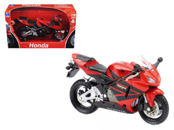 2006 Honda CBR600R Red 1/12 Diecast Motorcycle Model by New Ray