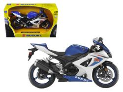 2008 Suzuki GSX-R1000 Blue Bike Motorcycle 1/12 by New Ray
