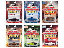 2018 Mint Release 3, Set A of 6 Cars Limited Edition to 2,000 pieces Worldwide 1/64 Diecast Models by Racing Champions