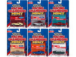 """2019 Mint Release 1 """"30th Anniversary"""" (1989-2019) Set B of 6 Cars Limited Edition to 2000 pieces Worldwide 1/64 Diecast Models by Racing Champions"""