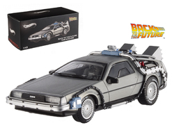 Delorean DMC-12 Back To The Future Time Machine Cult Classics 1/43 Diecast Model Car by Hotwheels