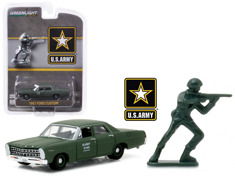 Greenlight 1977 Ford Bronco Military Tribute Sarge 1:64 Green 29842