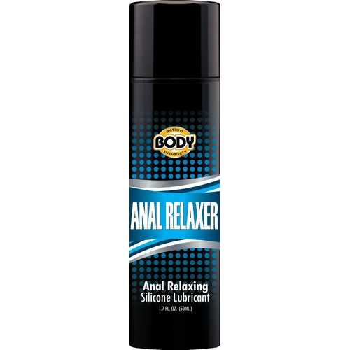 BODY ACTION ANAL RELAXER SILICONE LUBE 1.7OZ