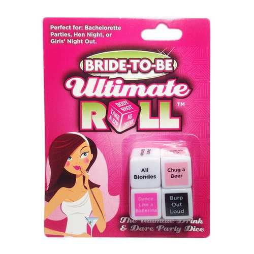 BRIDE TO BE ULTIMATE ROLL DICE